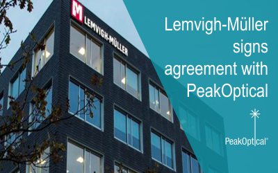 Lemvigh-Müller signs agreement with PeakOptical in Denmark