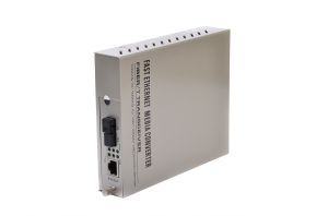 Bi-di fiber ethernet media converter