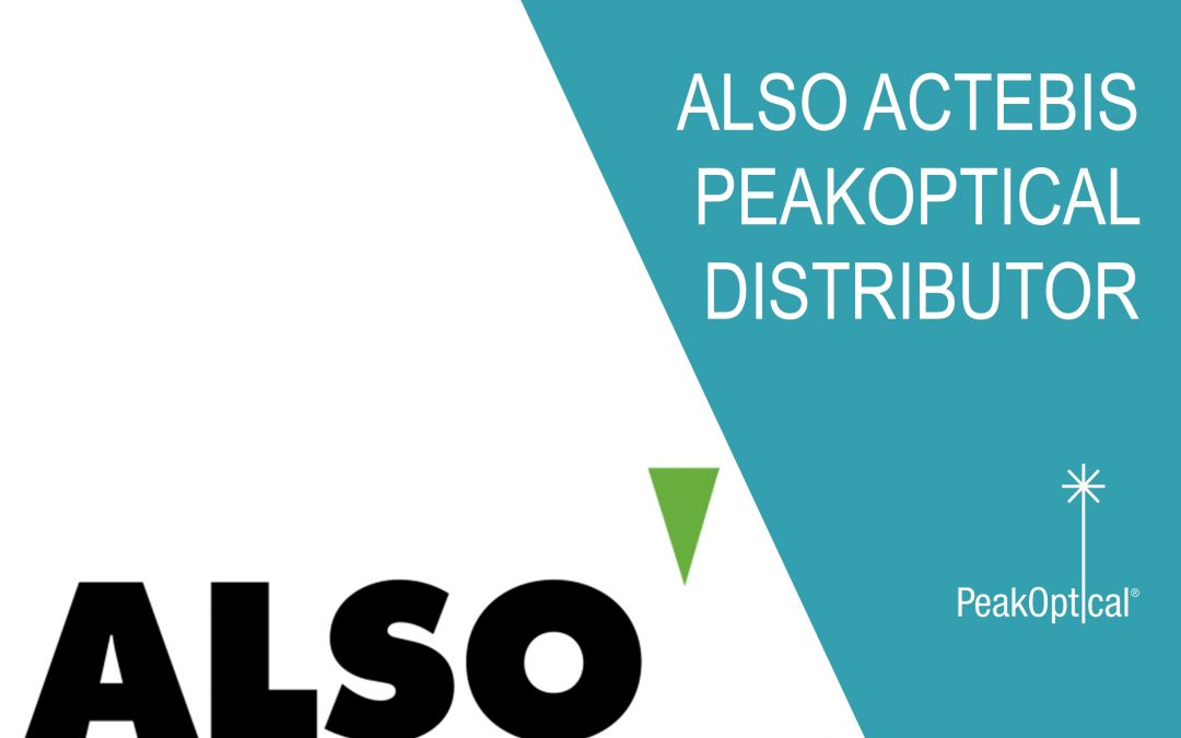 ALSO Actebis is now distibutor of PeakOptical products