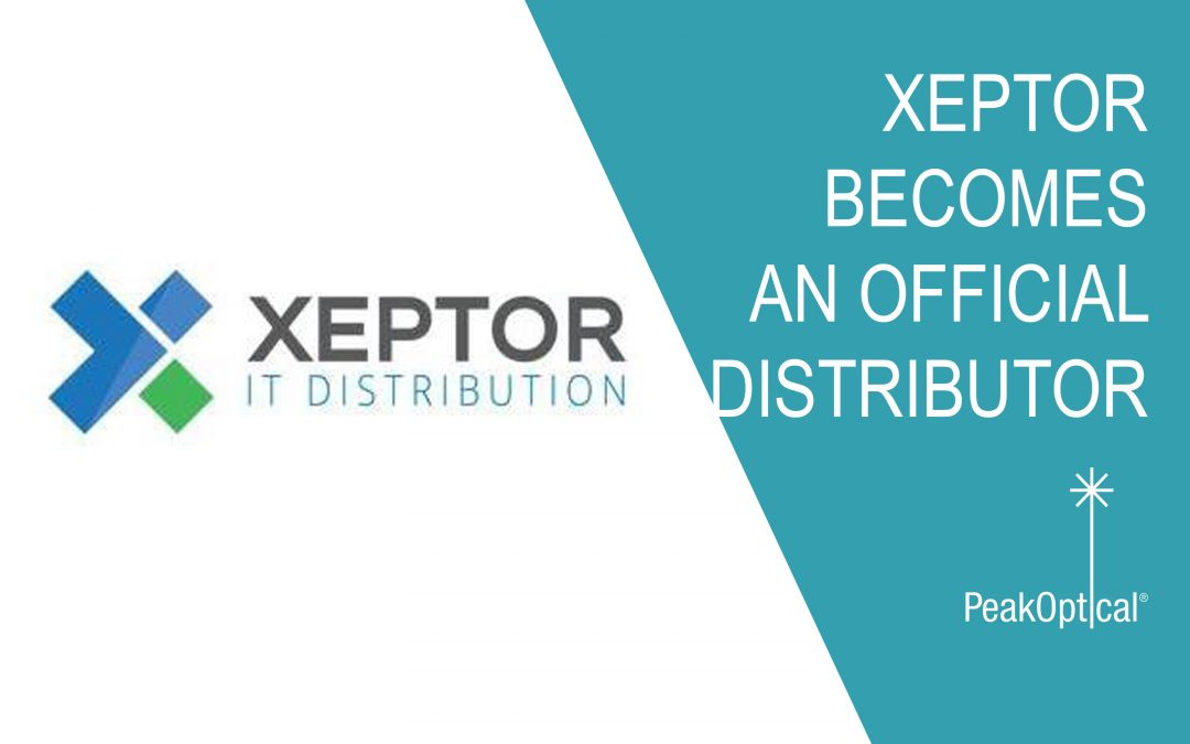 Xeptor becomes an official distributor of PeakOptical