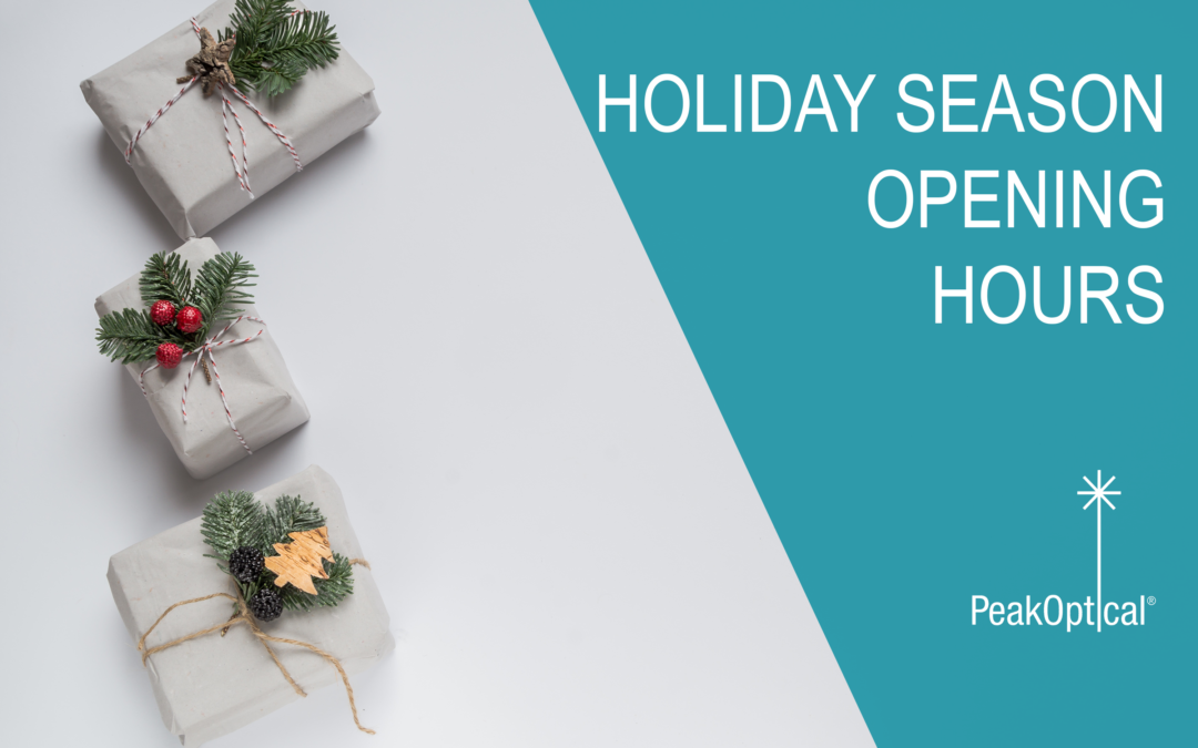 Holiday Season 2017  – OPENING HOURS