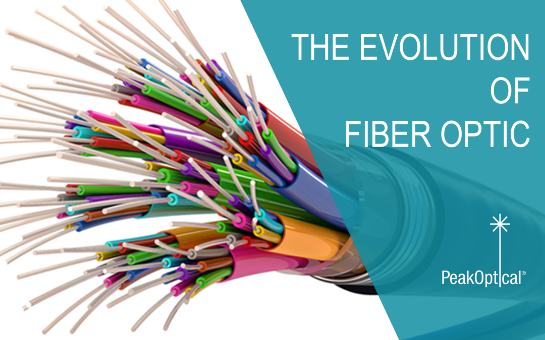 The evolution of fiber  optic communication