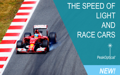 The Speed of Light and Race Cars