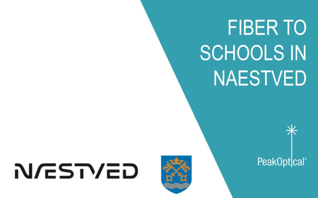 Fiber to schools in Naestved Municipality