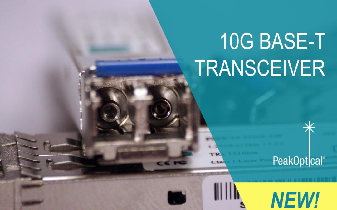 10G BASE-T TRANSCEIVER
