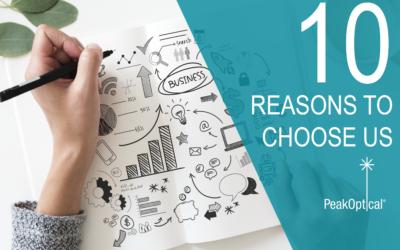10 Reasons to Choose PeakOptical