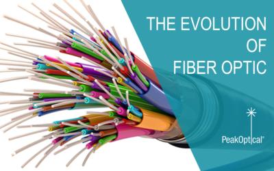 The evolution of fiber  optic communication