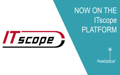 PeakOptical's products are available NOW on the ITscope platform!
