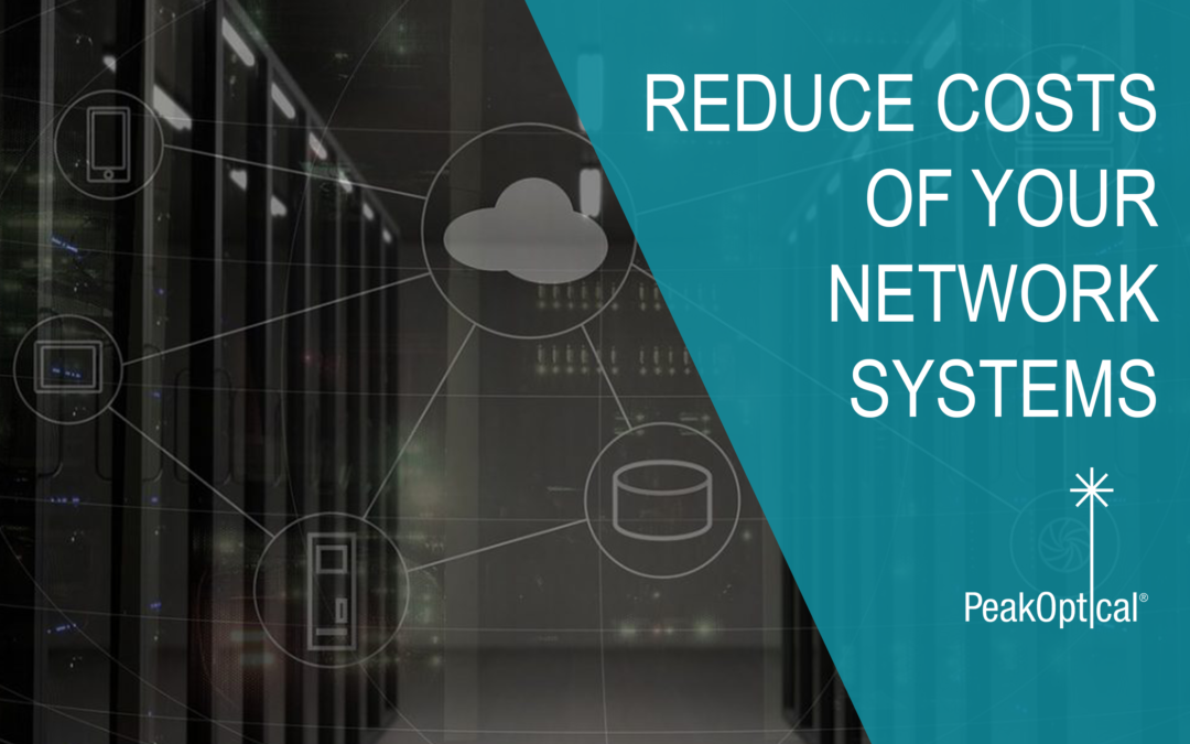 REDUCE COSTS OF YOUR NETWORK SYSTEMS