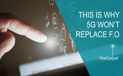 This is why 5G won't replace fiber optic