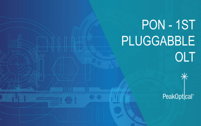 PON Industry's First Fully Pluggable OLT