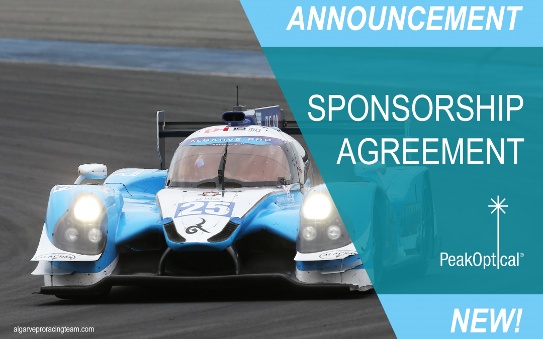 sponsorship announcement