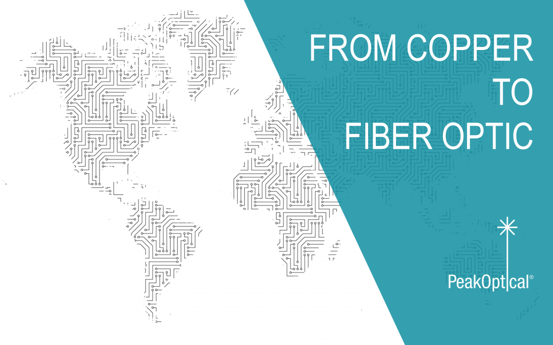 from copper to fiber optic