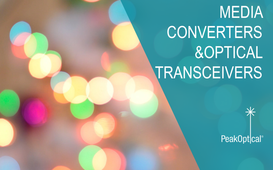 media converters and optical transceivers